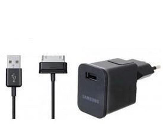 Imagine Incarcator Retea GALAXY TAB 10.1 2A+cablu date original