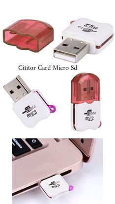 Imagine Cititor card micro SD