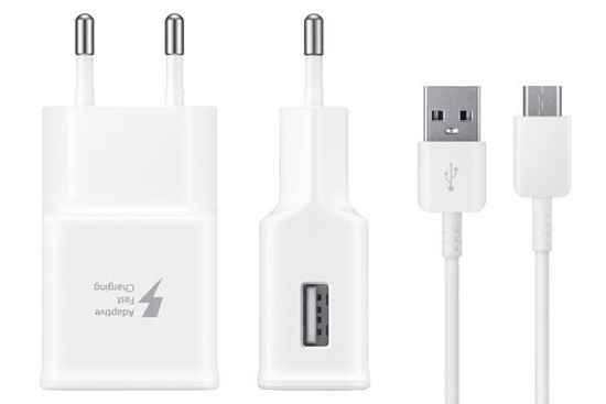 Imagine ORG SAMSUNG FAST CHARGERS 9V/2A +CABLU DATE  TYP-C SAM S8,9,NOTE8,9 10+1 GRATIS