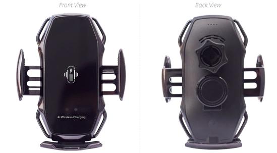Imagine Suport Wireless Telefon Masina 15W,Original , smart sensor ,Incarcator fast charge,model A5